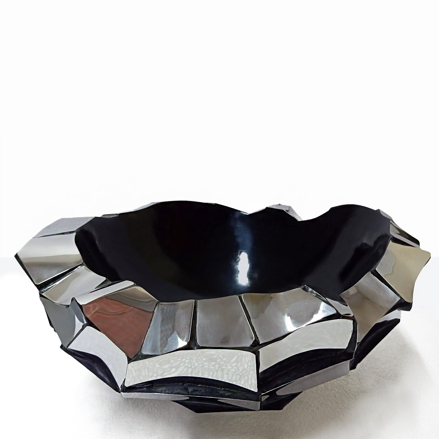 Chisel Bowl, stainless steel