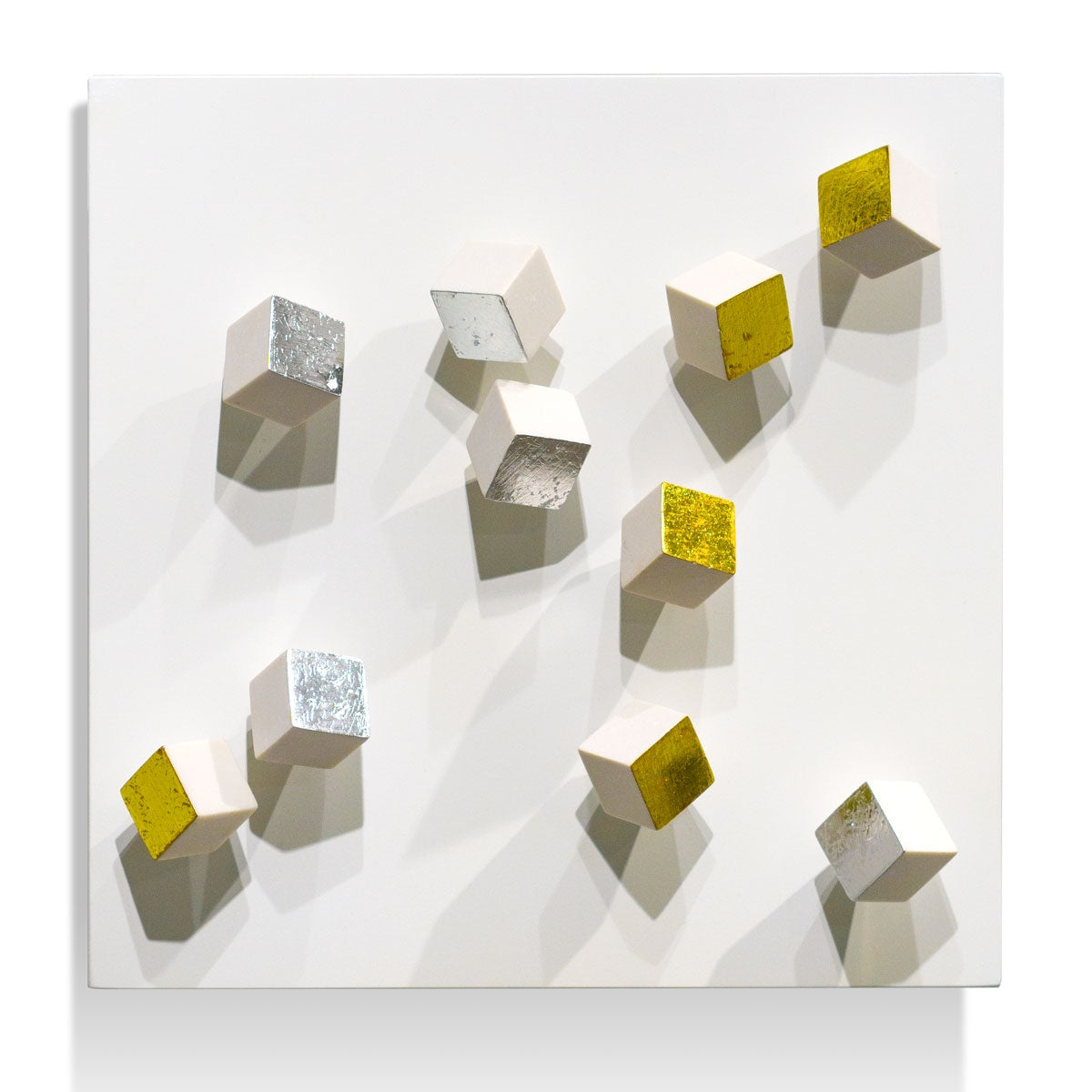 Wall Play™ Substrate, 'Gold & Silver Pivot'