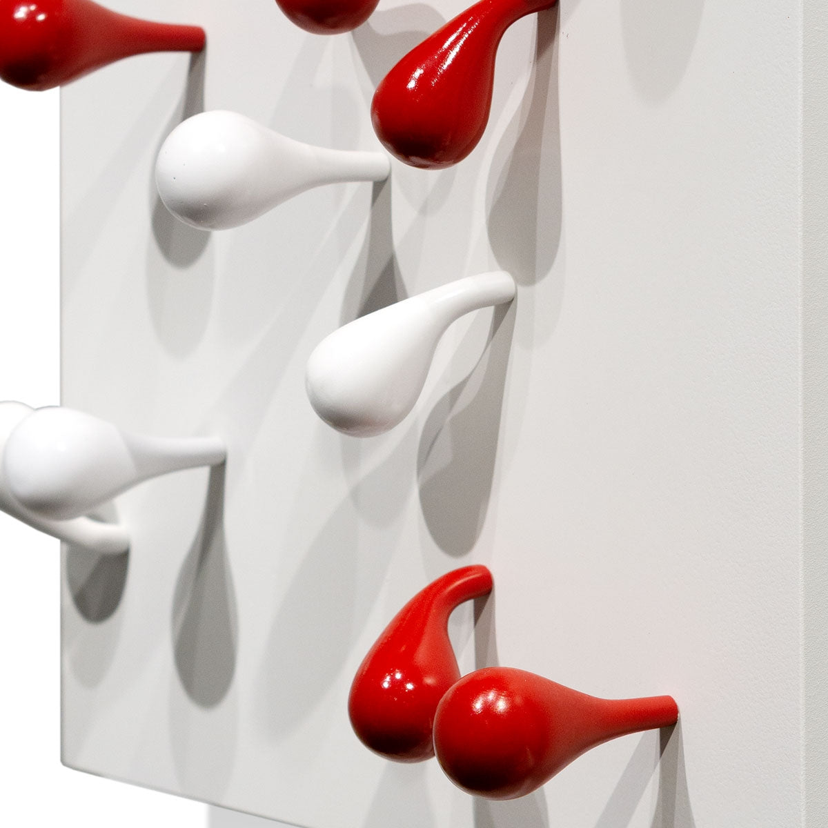 Wall Play™ Substrate, 'Red & White Fig'