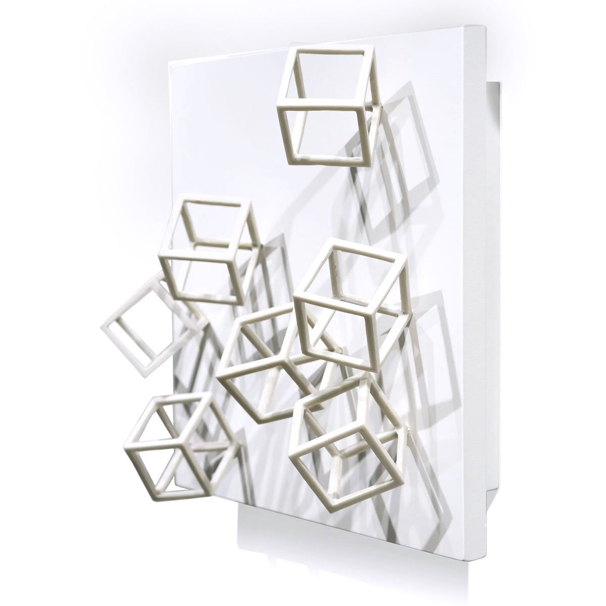Wall Play™: Cubical, Outdoor Cream