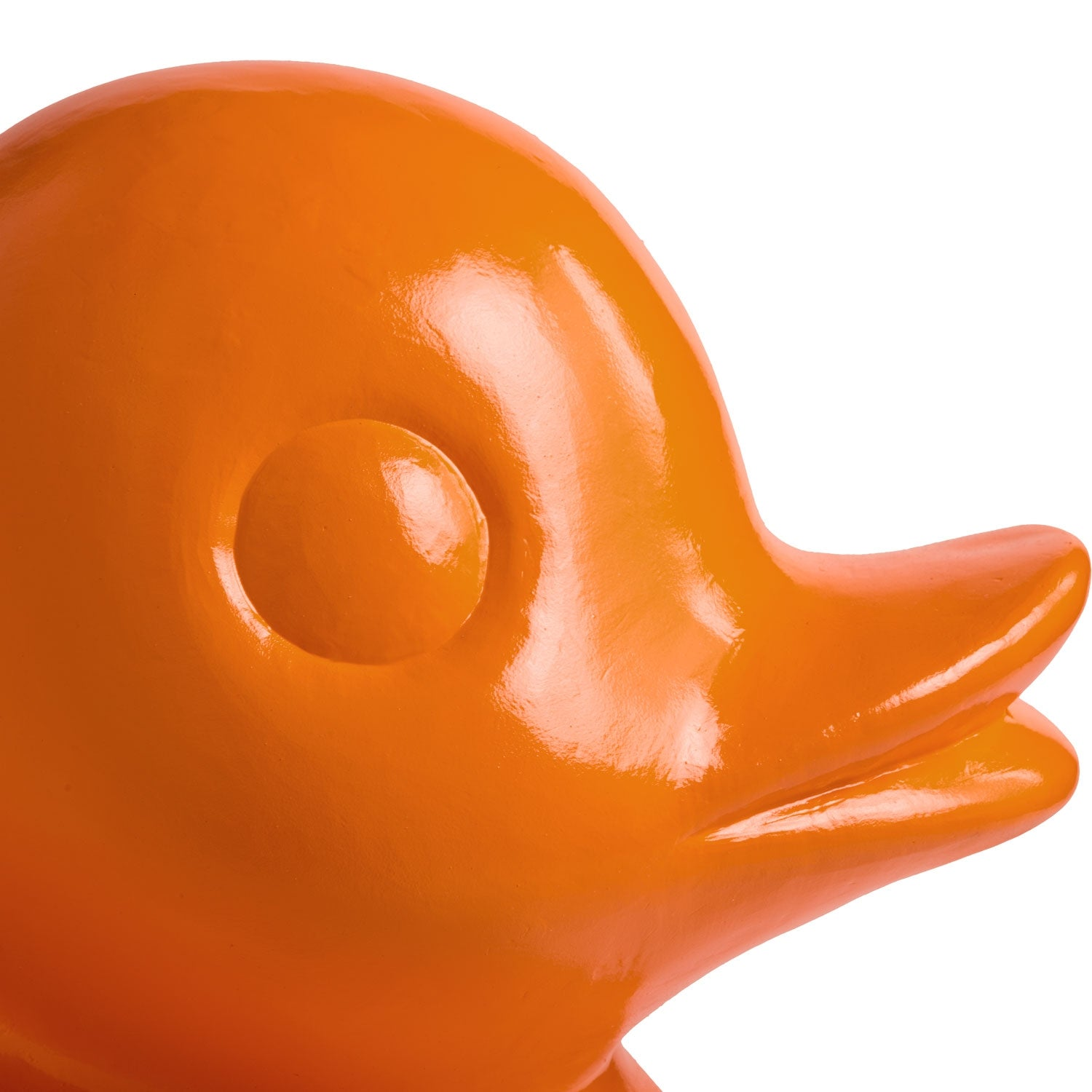 Duck Sculpture, Orange