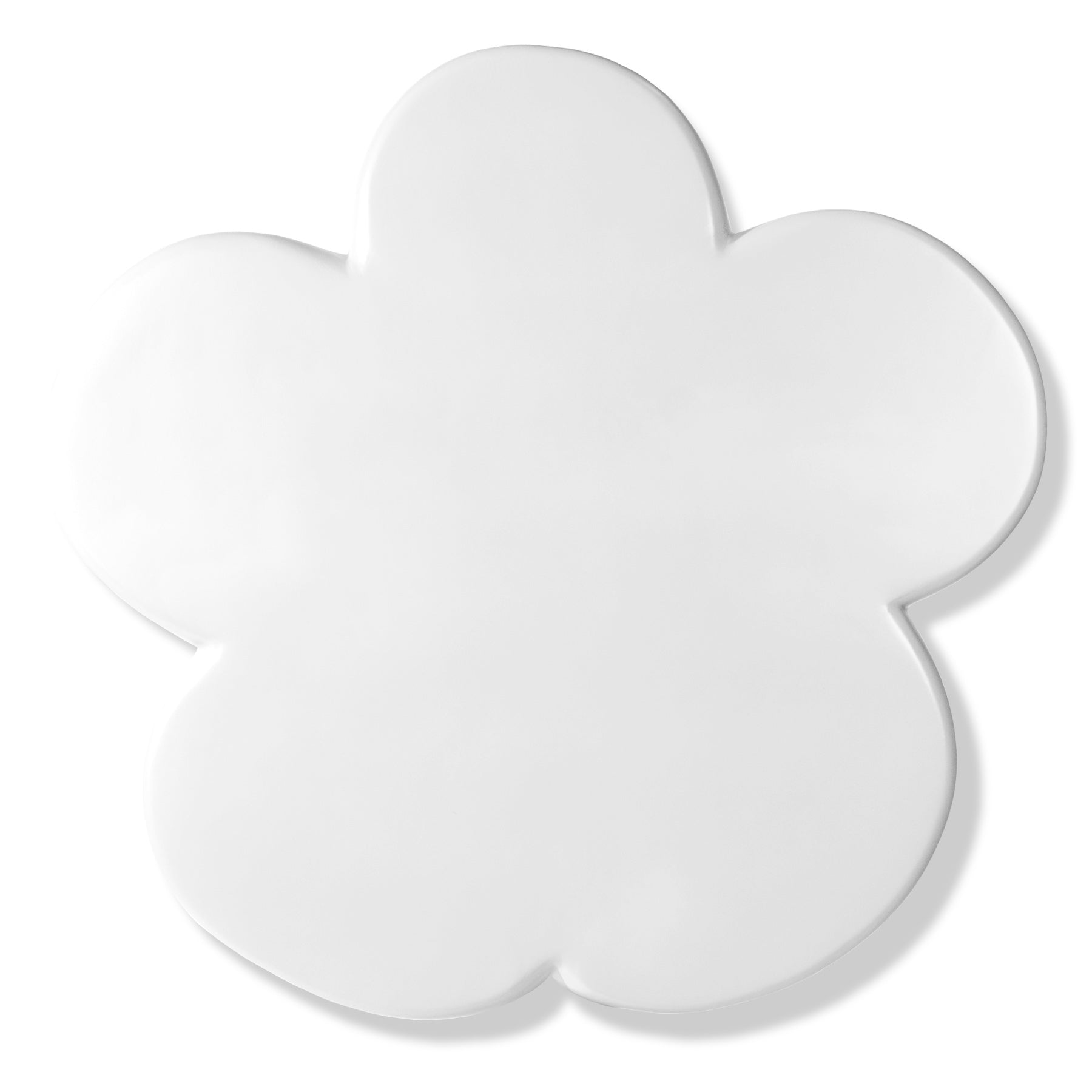 Flower Power Wall Art, Gloss White