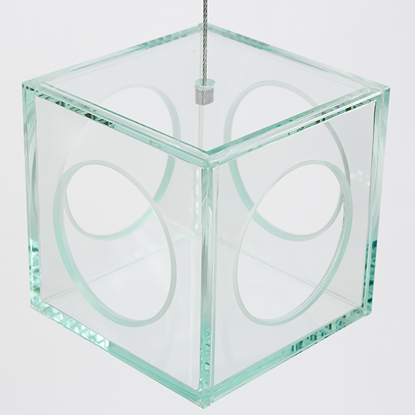 Hanging Glass Square