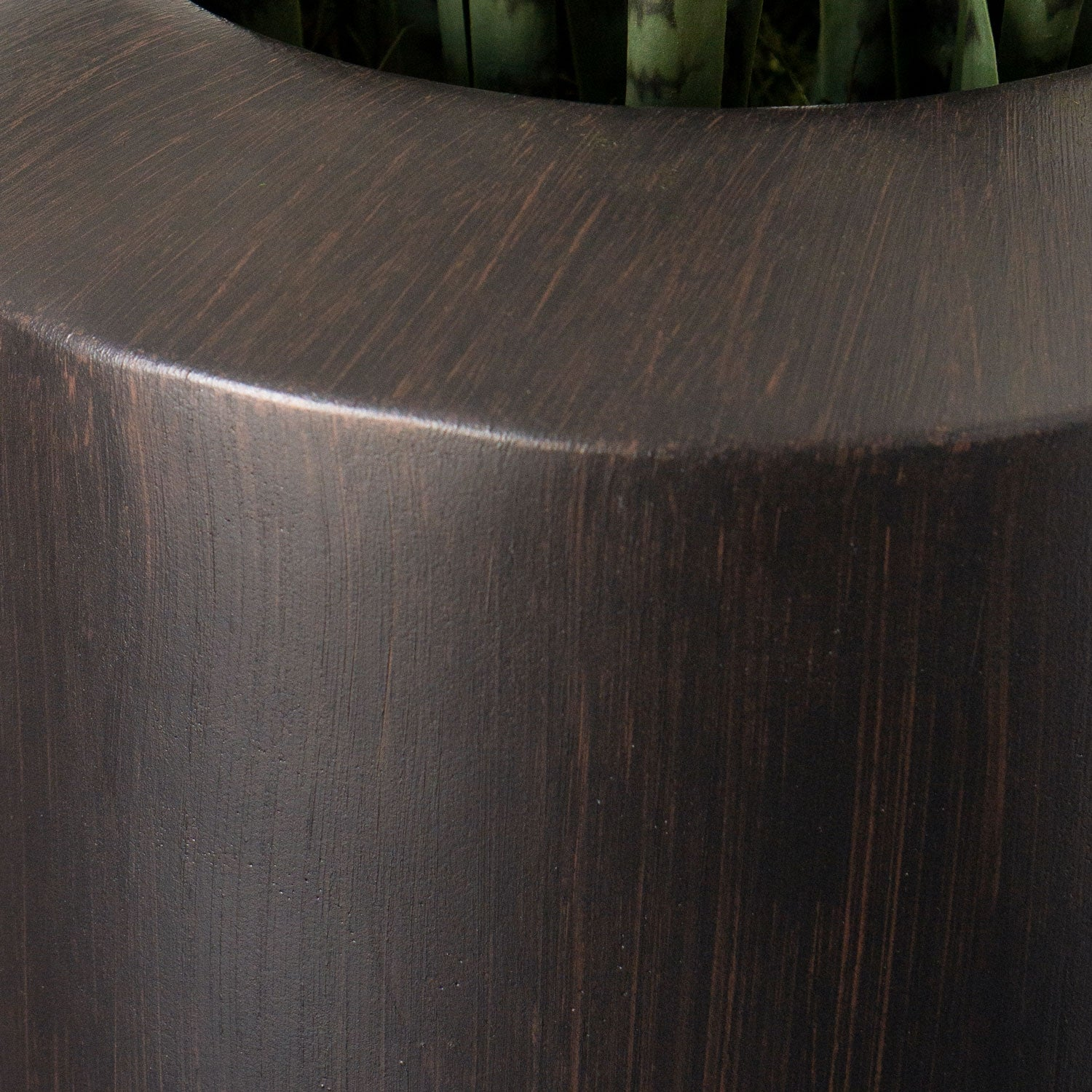 Sansevieria in Barrel Planter LG