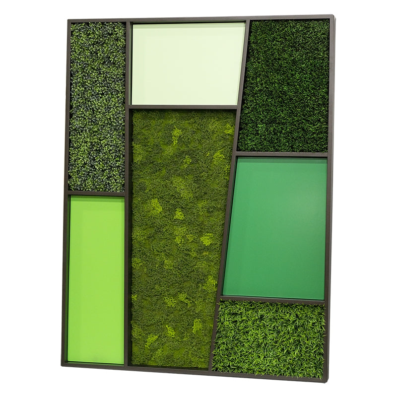 Green Wall, 'Mondrian'