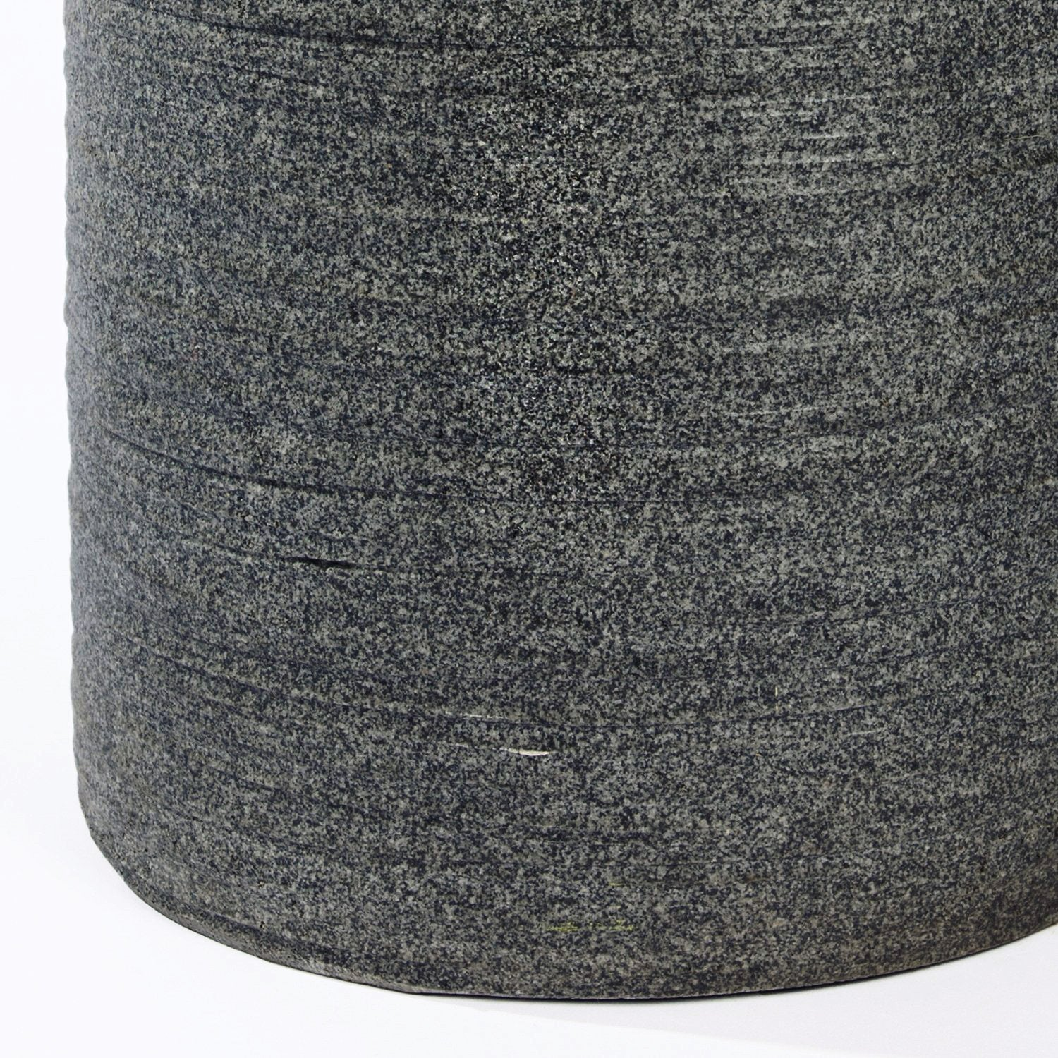 "Distressed Textured: Ishi Cylinder Planter, 25.5""H"