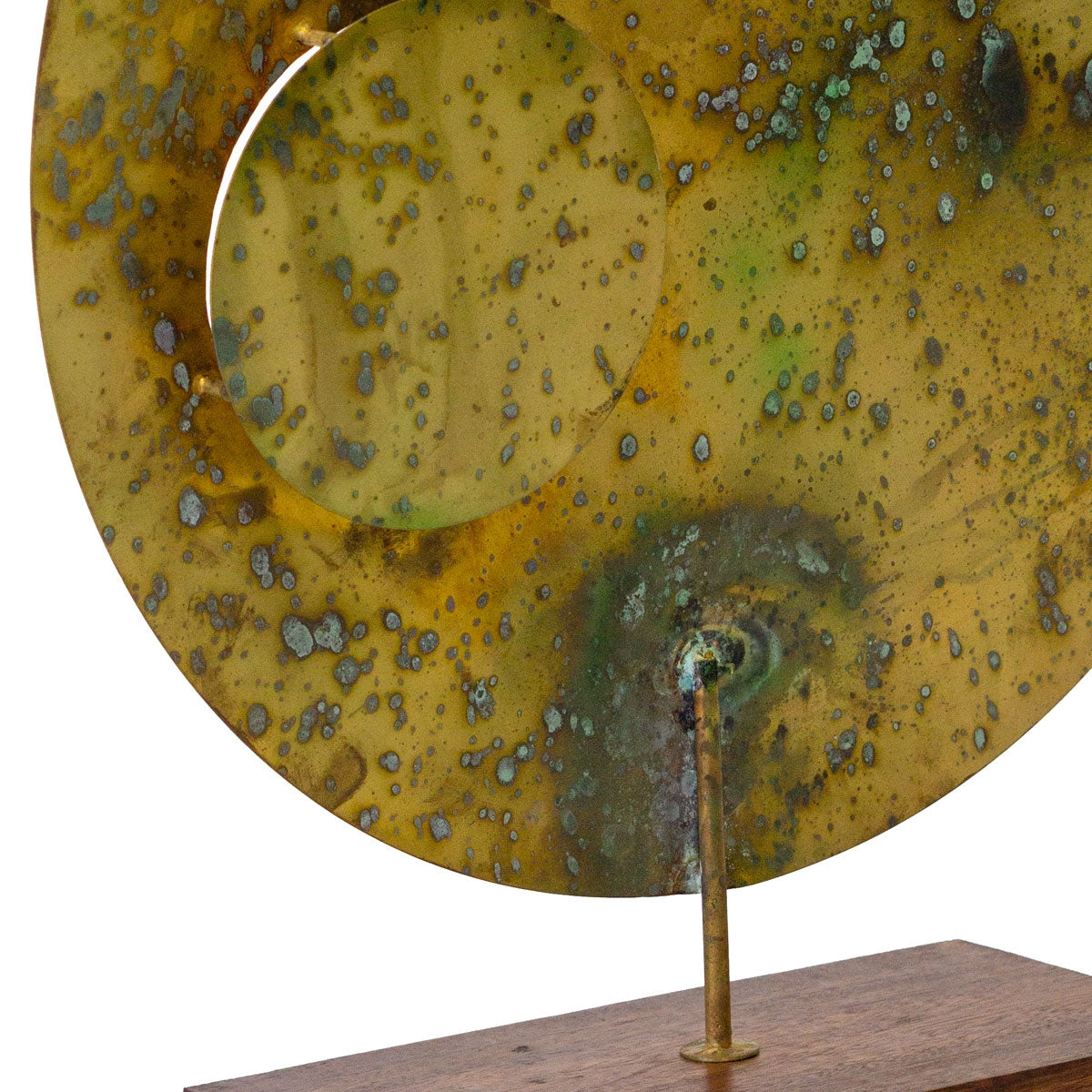 "Acido Disc 24""H Sculpture"