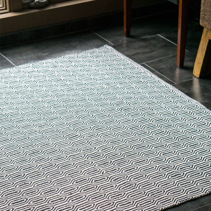 Rug, Geometric 5' x 8' (cotton)