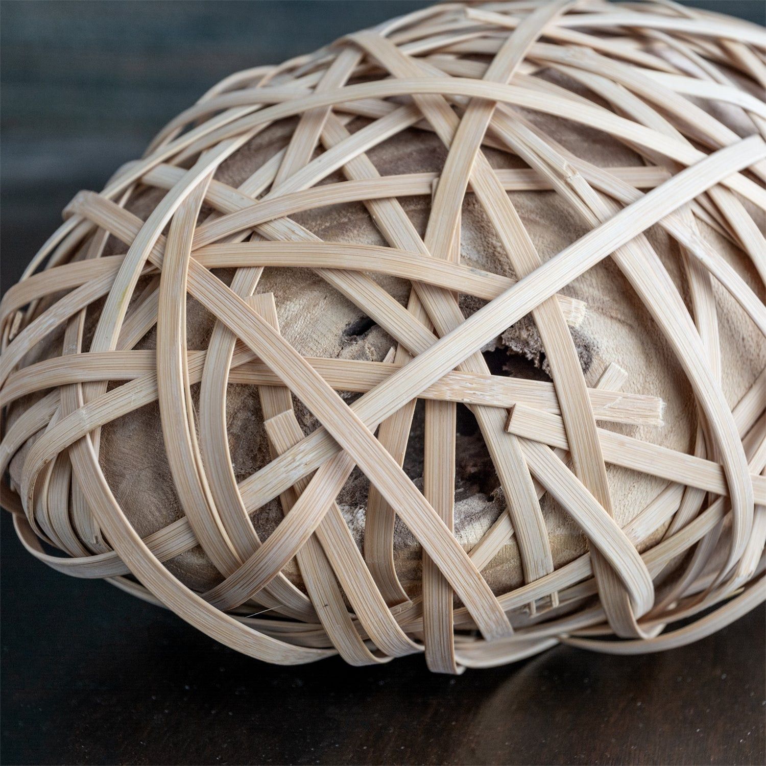 Bamboo & Wood Sculpture, LG