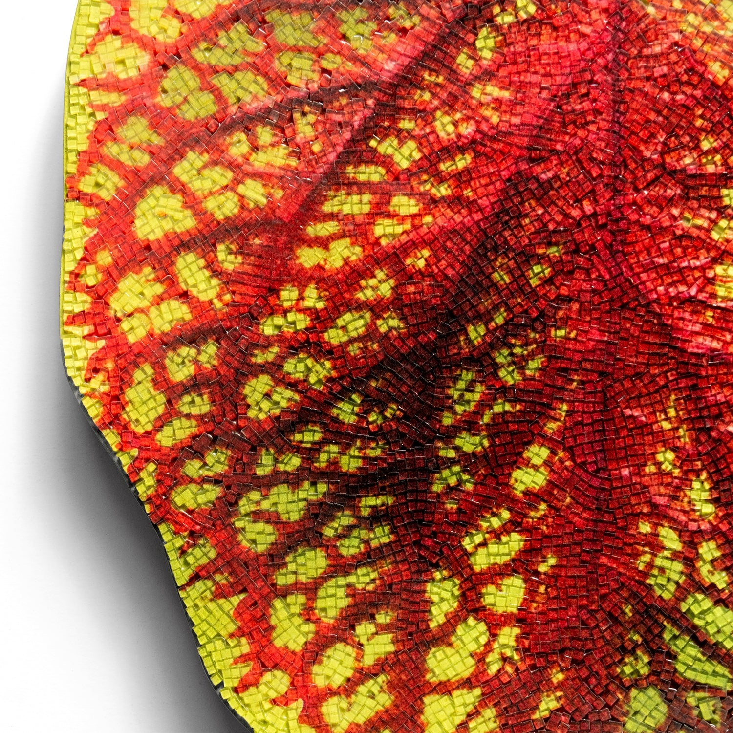 "Mosaic Coleus Rust 20""H Wall Art"
