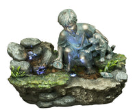 Estanque Nino c/Perro Fountain (On Order 50% Payable on Order 50% on Delivery - Total Price Eur 470)