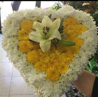 Cemetery Arrangement Heart