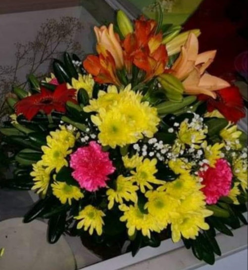 Cemetery Arrangement Eur15
