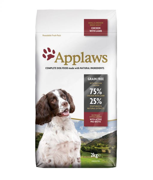 Applaws Dog Food - Chicken with Lamb 2kg