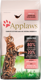 Applaws Cat Food - Adult Cat Chicken with extra Salmon 2kg