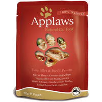 Applaws Cat Food - Tuna Fillet with Pacific Prawn 70g