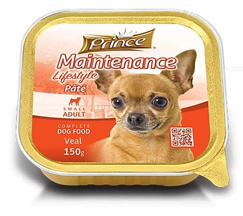 Prince Small Adult Pate Veal 150g