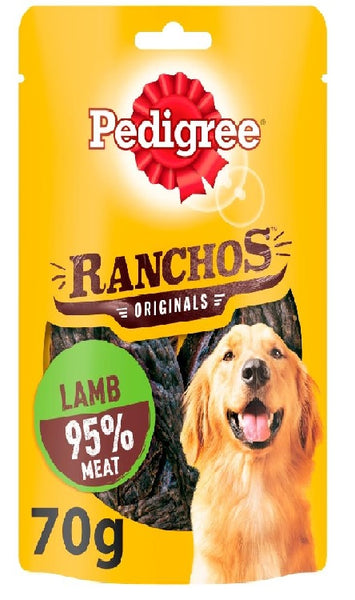 Ranchos, Rich in Lamb 95% Meat 70g