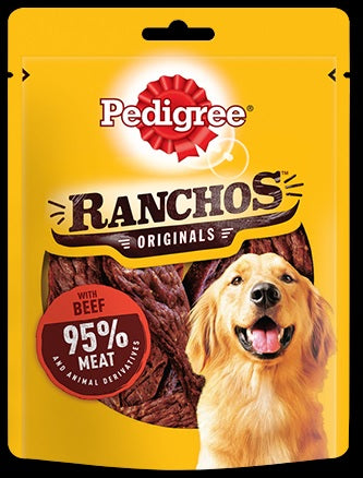 Ranchos, with Beef 95% Meat 70g