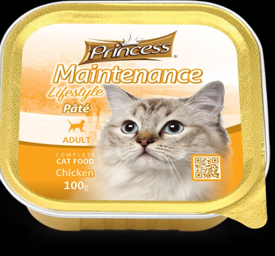 Princess Adult Pate Chicken 100g
