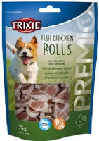 Fish Chicken Rolls - with chicken and pollock 75g