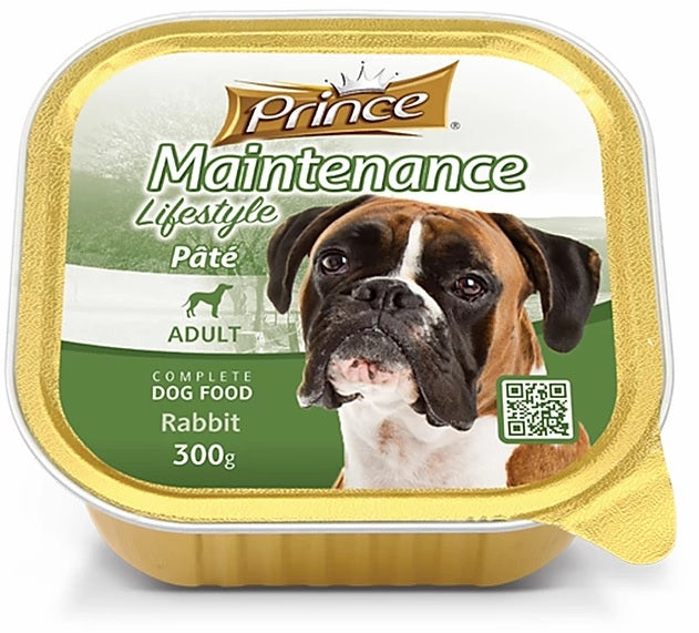 Prince Adult Dog Rabbit 300g