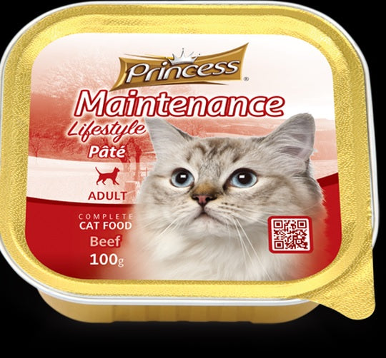 Princess Adult Pate Beef 100g
