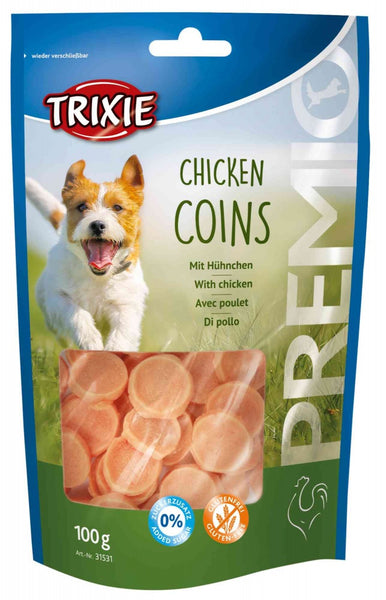 Chicken Coins - with chicken breast 100g