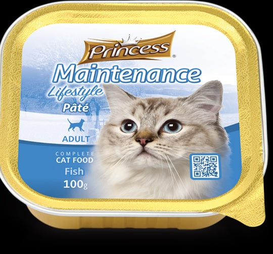 Princess Adult Pate Fish 100g
