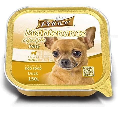 Prince Small Adult Dog Duck 150g