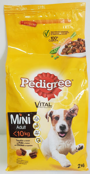 Pedigree Mini Adult Chicken 2kg