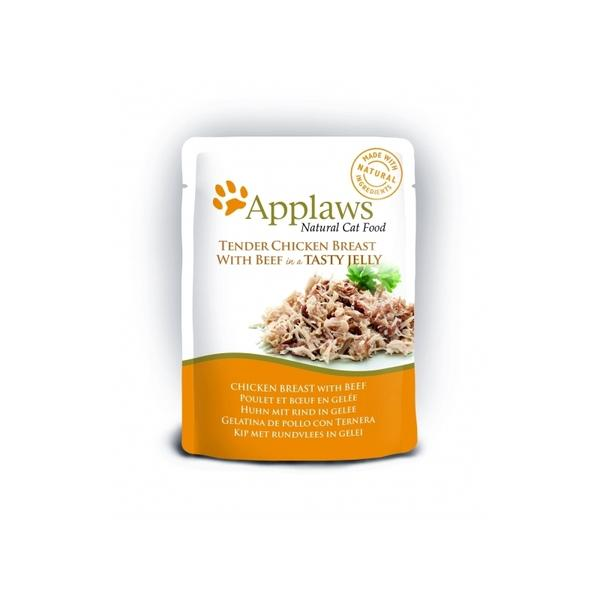 Applaws Cat Food - Chicken Breast with Beef 70g