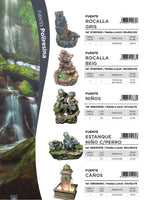 Rocalla Gris Large Fountain (On Order 50% Payable on Order 50% on Delivery - Total Price Eur 750)