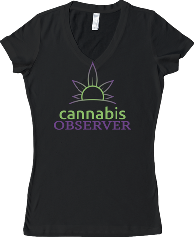 Cannabis Observer - Logo - Front - Sporty V