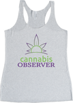 Cannabis Observer - Logo - Front - Tanktop