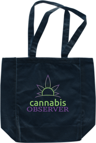 Cannabis Observer - Logo - Front - Tote Bag