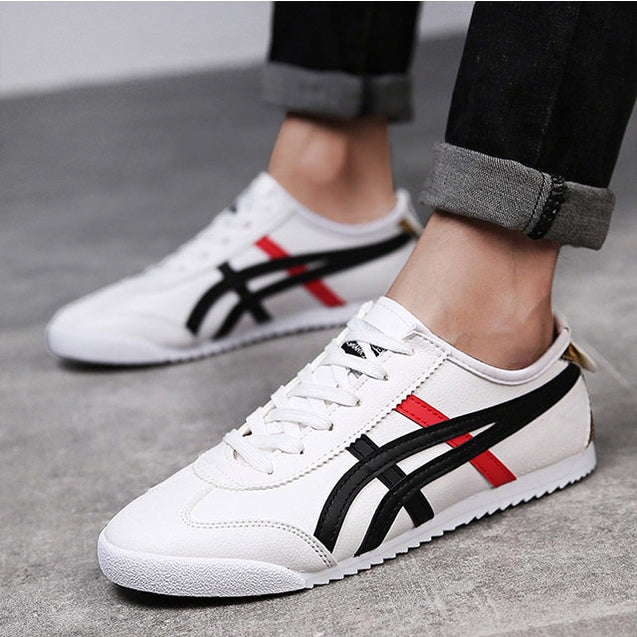 2019 New Couple Shoes Fashion Casual Shoes Men/Women Sports Shoes Flat Shoes Outdoor Sports Shoes Leather waterproof Sneakers