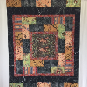 Australian Aboriginal Fabric Showstopper Quilt Kit