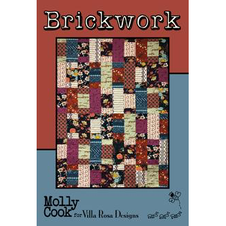 Brickwork Quilt Pattern - Designed by Molly Cook for Villa Rosa Designs