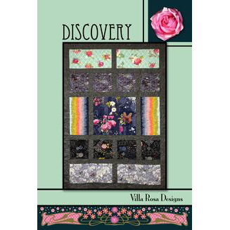 Discovery Quilt Pattern - Designed by Pat Fryer for Villa Rosa Designs