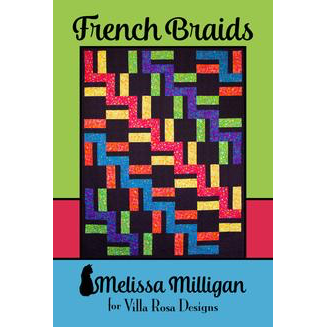 French Braids Quilt Pattern - Designed by Melissa Milligan for Villa Rosa Designs