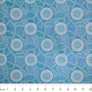 Kangaroo Path BLUE - Designed by Roseanne Morton
