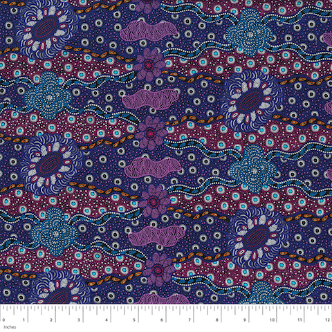 Lillup Dreaming Purple - Designed by Karen Bird