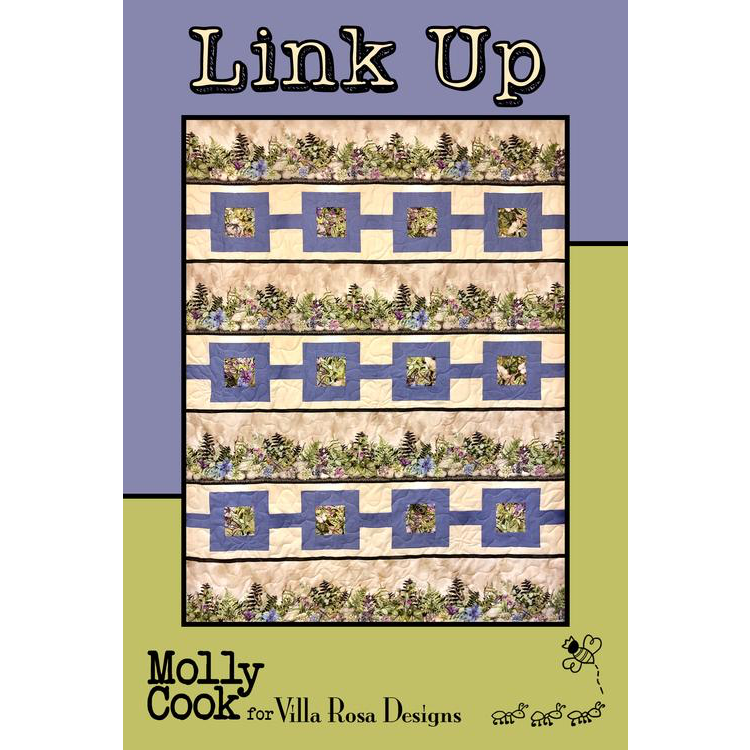 Link Up Quilt Pattern - Designed by Molly Cook for Villa Rosa Designs