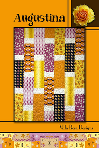 The Augustina Quilt Pattern uses expressive quilt fabrics to their best advantage: showcasing attractive fabrics (like our Australian Aboriginal Fabrics) in large pieces