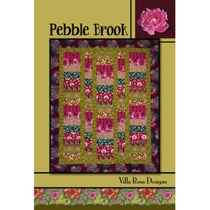 Pebble Brook Quilt Pattern - Designed by Pat Fryer for Villa Rosa Designs