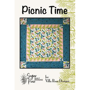 Picnic Time Quilt Pattern - Designed by Sugar Pine Quilt Designs for Villa Rosa Designs
