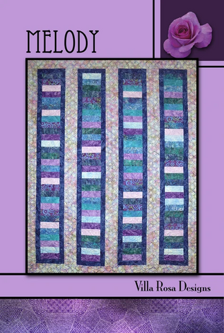 Melody Quilt Pattern, designed by Pat Fryer for Villa Rosa Designs