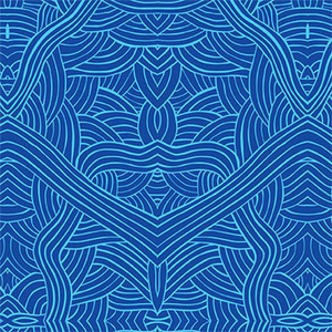 Untitled Blue - Designed by Nambooka