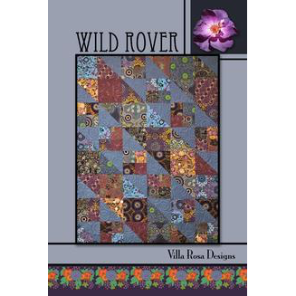 Wild Rover Quilt Pattern - Designed by Pat Fryer for Villa Rosa Designs